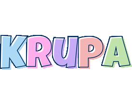 Krupa pastel logo