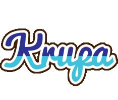 Krupa raining logo