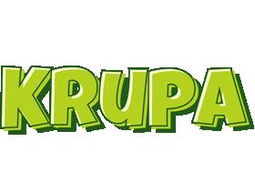 Krupa summer logo