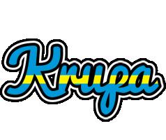Krupa sweden logo