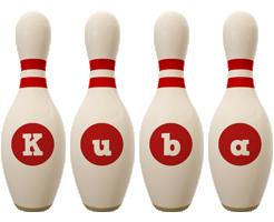 Kuba bowling-pin logo
