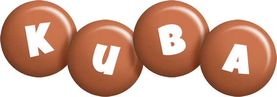 Kuba candy-brown logo