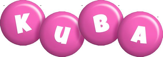 Kuba candy-pink logo