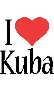 Kuba i-love logo