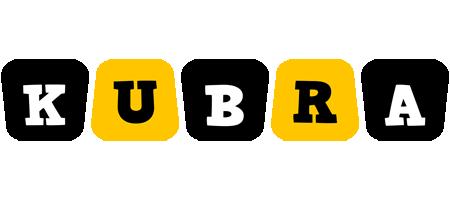 Kubra boots logo