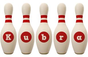 Kubra bowling-pin logo
