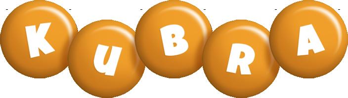 Kubra candy-orange logo