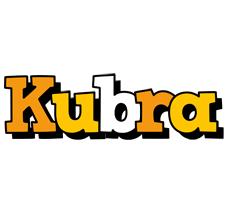 Kubra cartoon logo