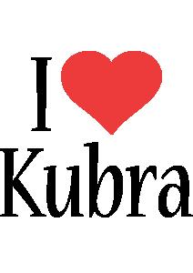 Kubra i-love logo