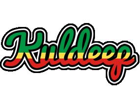 Kuldeep african logo