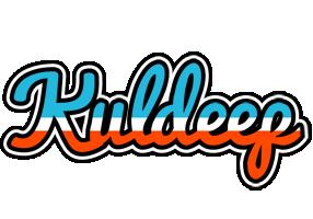 Kuldeep america logo