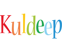 Kuldeep birthday logo