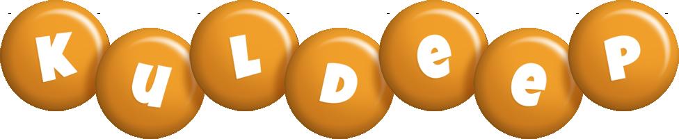 Kuldeep candy-orange logo