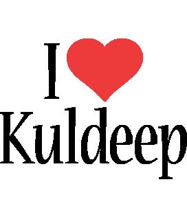 Kuldeep i-love logo