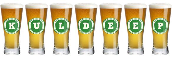Kuldeep lager logo