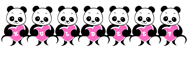 Kuldeep love-panda logo