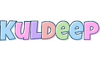 Kuldeep pastel logo