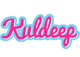 Kuldeep popstar logo
