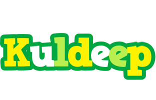 Kuldeep soccer logo