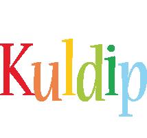 Kuldip birthday logo