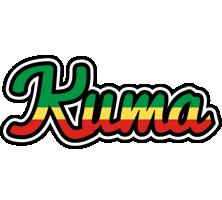 Kuma african logo