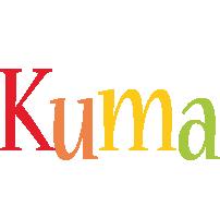 Kuma birthday logo