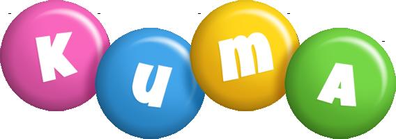 Kuma candy logo