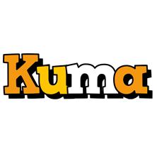 Kuma cartoon logo