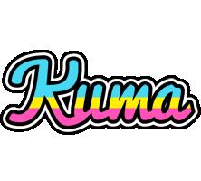 Kuma circus logo