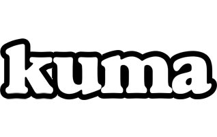 Kuma panda logo