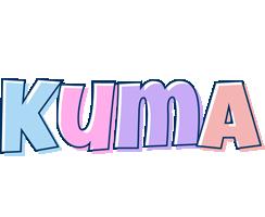 Kuma pastel logo