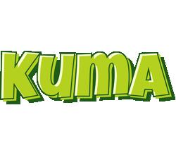 Kuma summer logo