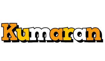 Kumaran cartoon logo