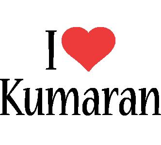 Kumaran i-love logo
