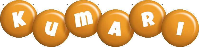 Kumari candy-orange logo