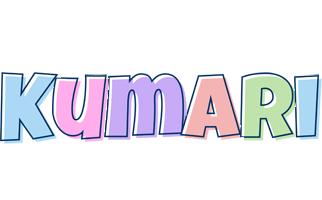 Kumari pastel logo