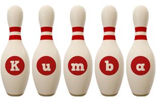 Kumba bowling-pin logo