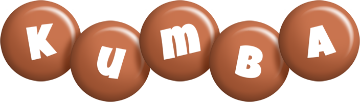 Kumba candy-brown logo