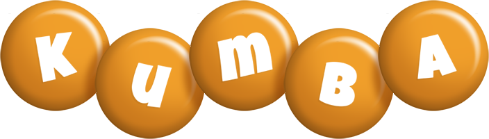 Kumba candy-orange logo