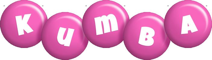 Kumba candy-pink logo