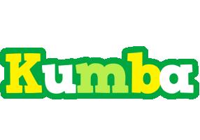 Kumba soccer logo