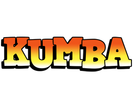 Kumba sunset logo