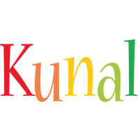 Kunal birthday logo