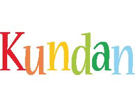 Kundan birthday logo