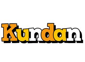 Kundan cartoon logo