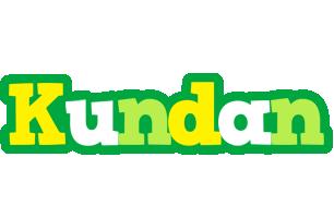 Kundan soccer logo