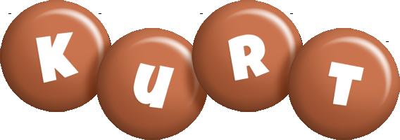 Kurt candy-brown logo