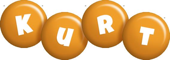 Kurt candy-orange logo