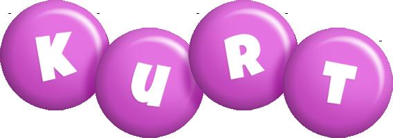 Kurt candy-purple logo