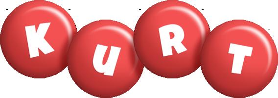 Kurt candy-red logo